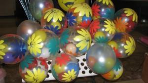 шары воздушные с гелием яркие расцветки пластик