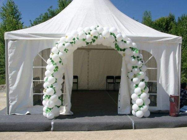 vip арки из шаров для свадьбы
